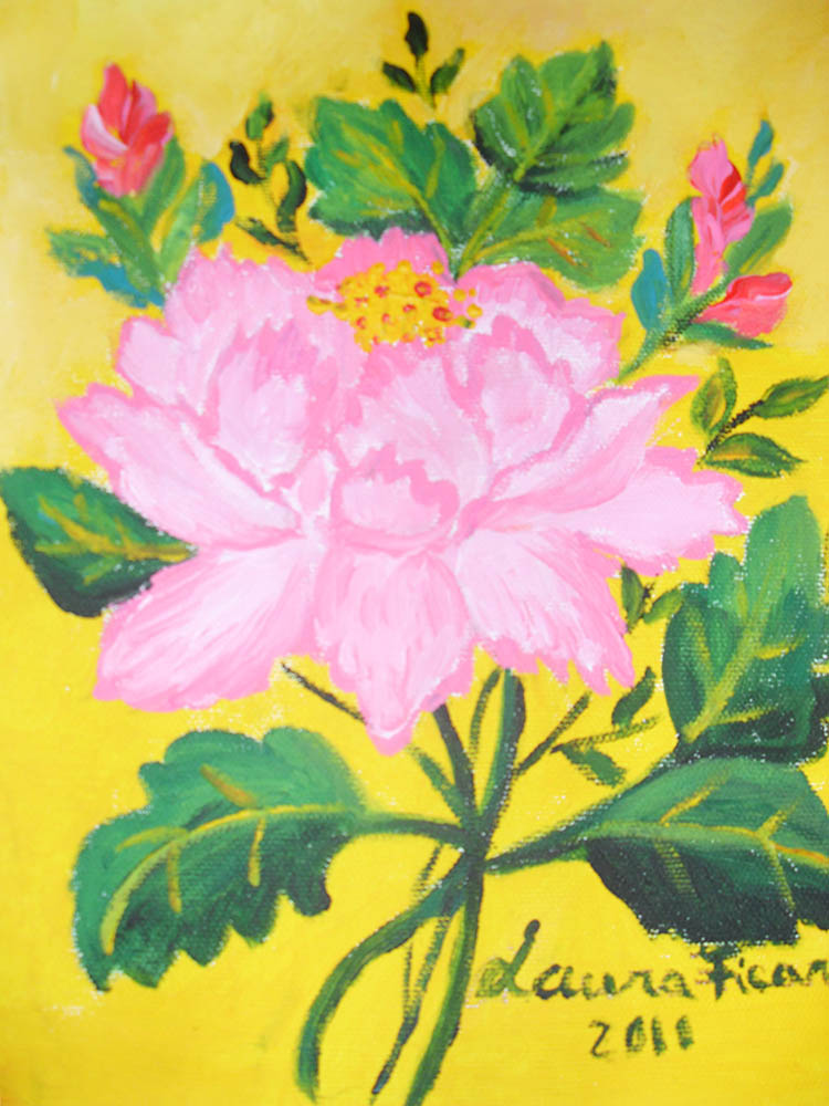 original floral paintings and artwork