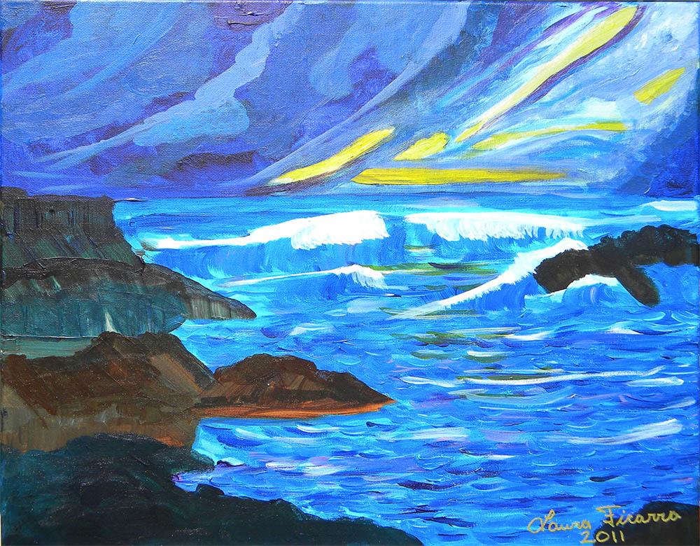 ocean painting online gallery