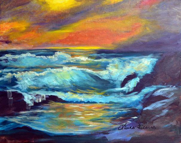Ocean painting gallery