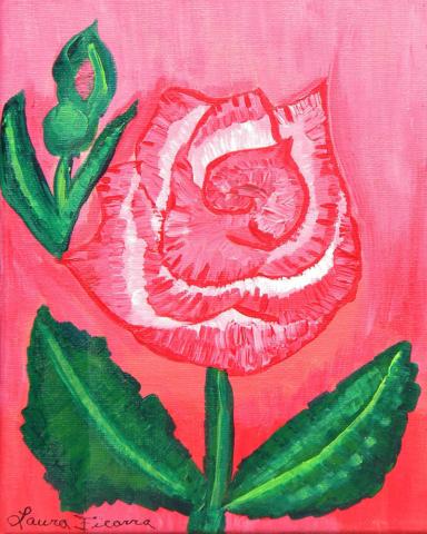 original floral paintings and artwork laura ficarra